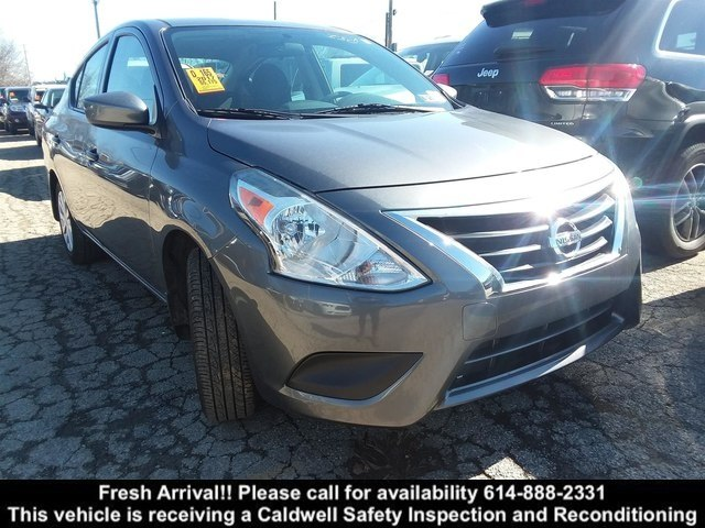 pre-owned 2017 nissan versa 1.6 s sedan in columbus #37238 | bob